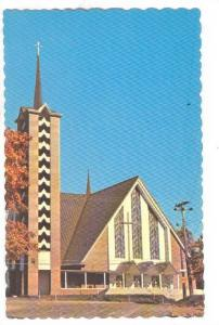 Holy Family Church Eglise Ste-Famille, Bathurst, New Brunswick, Canada, 40-60s