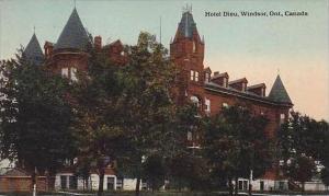 Canada Ontario Windsor Hotel Dieu 1916