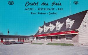 TROIS RIVIERES, Quebec, Canada, 1940-60s; Castel des Pres, Motel - Restaurant...