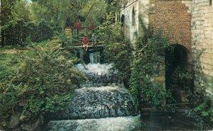 Postcard Netherlands Valkenburg Houthem Waterval Geulhemermolen