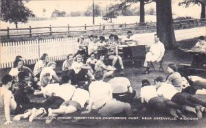 Discussion Group, Presbyterian Conference Camp, Near Greenville, Michigan, 20...