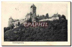 Old Postcard Hohkonigsbourg