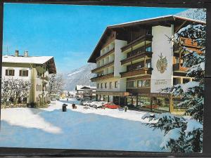Italy, Zillertal, Tirol, hotel neue post, writing on back