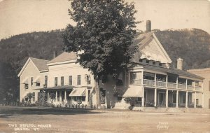 LPV29 Bristol Vermont VT Postcard RPPC The Bristol House