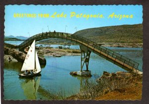 AZ Greetings From Patagonia Lake near Sonoita Creek Arizona Postcard