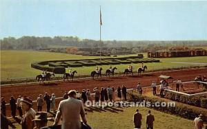 Parade to the Psot at Keeneland Race Course Lexington, Kentucky, KY, USA Unused