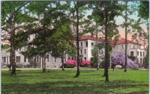 THOMASVILLE, GA Georgia  Memorial HOSPITAL  c1930s  Handcolored  Postcard *
