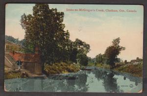 Scene On McGregor's Creek, Ontario 1914 Used - Corner Wear & Crease