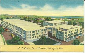Freeport, Me., L.L. Bean, Inc., Factory