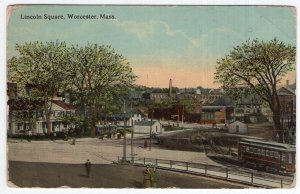 Worcester, Mass, Lincoln Square