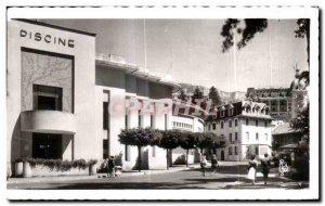 Old Postcard Aix Les Bains Savoie The Hotel des Bains and Etablissement Thermal