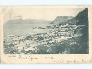 Pre-1907 NICE VIEW Kalk Bay - Kalkbaai - Near Cape Town South Africa i5386