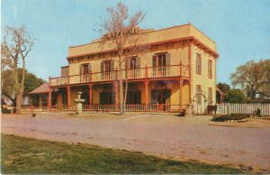 Zanetta House San Juan Batista, CA Chrome Postcard