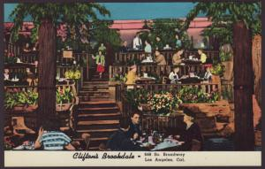 Clifton's Brookdale,Los Angeles,CA Postcard