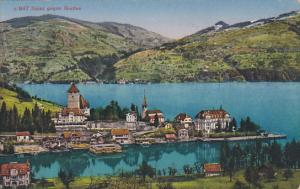 Panorama, SPIEZ Gegen Gunten, Berne, Switzerland, 1900-1910s