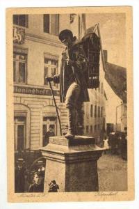 Statue in Square / Kiepenkerl,Muenster,Germany 1900-10s