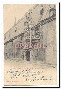 Nancy Old Postcard Ducal Palace Museum Lorraine