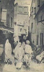 Alger Algeria, Africa, Une rue de la Casbah  Une rue de la Casbah