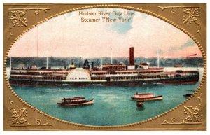 New York  Hudson River Day line Steamer  New York