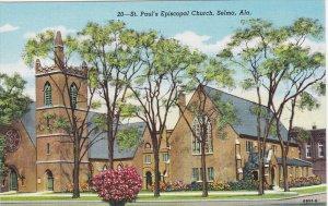 SELMA, Alabama; St. Paul´s Episcopal Church, 30-40s