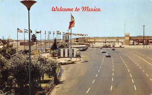 Mexico Old Vintage Antique Post Card Welcome to Mexico Unused