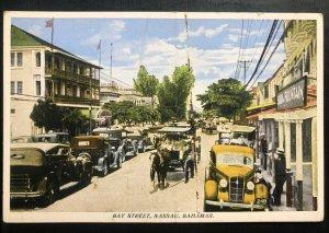 Mint Nassau Bahamas Color Picture Postcard Bay Street View