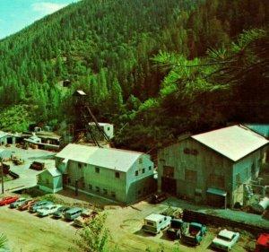 Vtg Cromo Postal Wallace Idaho Identificación Galena Plata Mine Dexter Press