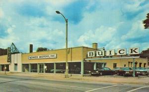 La Grange IL Bower Motors Buick Dealership Postcard