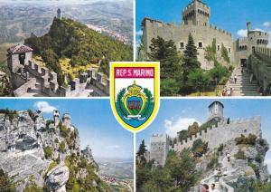 4-Views, Repubblica Di S. Marino, Italy, 1950-1970s