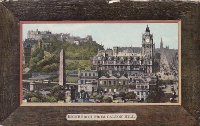 Scotland Edinburgh From Calton Hill