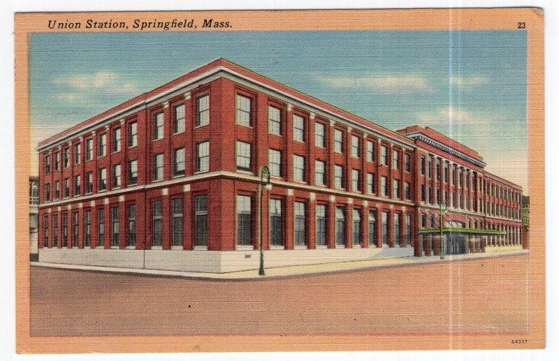 Springfield, Mass, Union Station