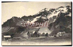 Old Postcard The Dauphine Lautaret (2075 m)