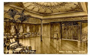 Canadian Pacific Steamship Co - Empress of Scotland, First Class Ballroom