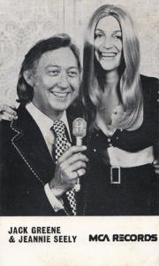 Jack Greene & Jeannie Seely Country & Western LP Record Launch 1970s MCA Photo