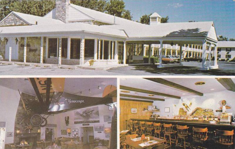 Exterior View, Dutch Colony Motor Inn, Antique Airplane Restaurant and Rudder...