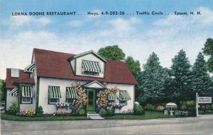 Lorna Doone Restaurant - Epsom NH, New Hampshire - Linen