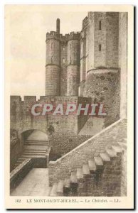 CARTE Postal Former Mont Saint Michel Chatelet