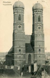 Germany - Munich. Frauenkirche