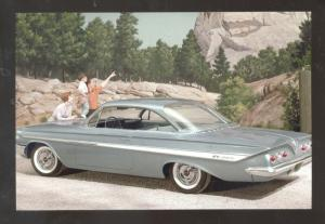 1961 CHEVROLET IMPALA CAR DEALER ADVERTISING POSTCARD '61 CHEVY CARS