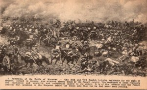 No 5 Panorama Of The Battle Of Waterloo 30th and 73rd English Infantry Regiments