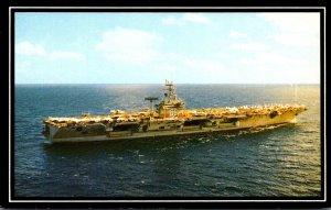 Aircraft Carrier U S S Dwight D Eisenhower