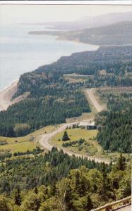 View from Cape Smokey,  Cape Breton,   Nova Scotia,   Canada,  40-60s