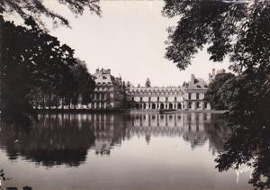 France Fontainbleau Le Palais Facade sur l'Etang aux Carpes