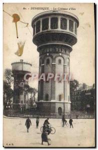 Old Postcard Chateau d & # 39eau Dunkirk chateau d & # 39eau