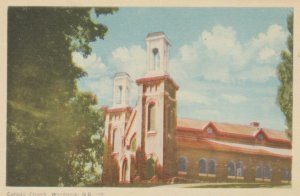 WOODSTOCK, New Brunswick, Canada, 1930s; Catholic Church