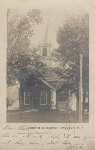 RP; SAUQUOIT , New York, 1906 ; First M.E. Church