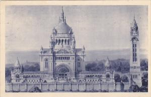 France Lisieux La Basilique de Lisieux 1937