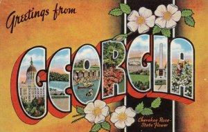 Large Letter GEORGIA  , 1950