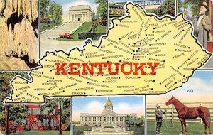 KY USA Map Unused