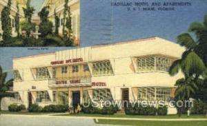Cadillac Motel & Apts Miami FL 1952